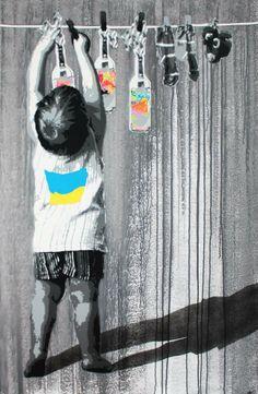 Artist :Kurar Art #streetart jd