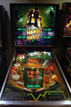 The first pinball machine I ever played. Haunted House by Gottleib 1982.