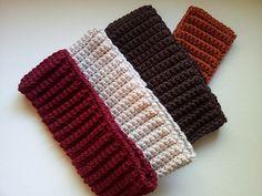 Ribbed Crochet Headband: free #crochet pattern