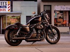 "Harley Davidson Iron 883. My ""easy rider"" she never turns me down, as long as I fill her up ;)"