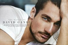 David James Gandy is an English model. After winning a televised competition, Gandy became a successful model. For several years, Italian designers Dolce & Gabbana featured him in their campaigns and fashion shows.