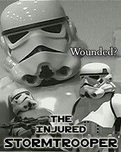 The Injured Storm Trooper ~~ directed by Brian Finifter