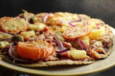 Arkiruokaa: Nopeat tortillapizzat