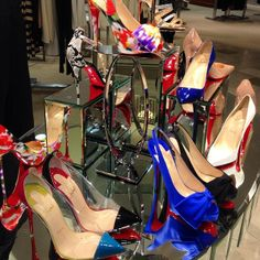 What's the collective noun for a pile of #Louboutins? #shoes #shopping #love