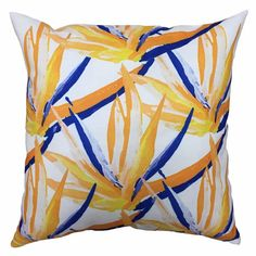 The Blush Label Birds of Paradise Indoor/Outdoor Pillow
