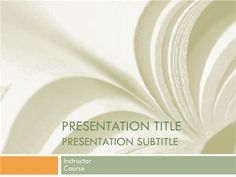 Academic Presentation For College Course In Textbook Design