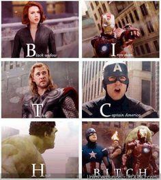 Significado oculto de los Avengers.