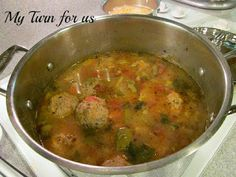 Albondigas ~Mexican Soup with Meatballs~