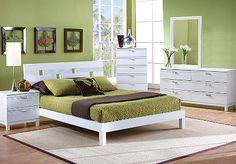 Gardenia White 5 Pc King Bedroom