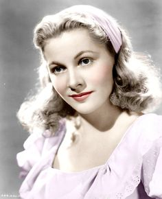 Joan Fontaine (22/10/1917 - 15/12/2013) Age: 96