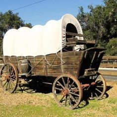 My grandmother came to from TN to TX on a wagon like this.Riding in a Covered Wagon to My Log Cabin Horse Wagon, Horse Drawn Wagon, Westerns, Saloon, Wooden Wagon, Old Wagons, The Lone Ranger, Covered Wagon, Chuck Wagon