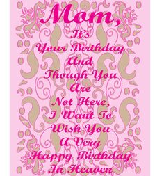 All wishes message wishes card greeting card birthday greetings happy birthday mom m4hsunfo