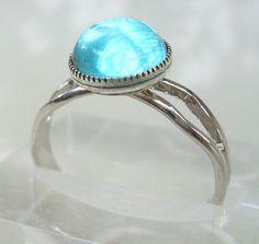 MAKO Mermaid Inspired Adjustable Mermaids Moon Pool Ring on Etsy, $10.95