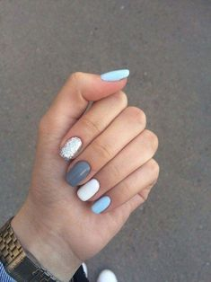 Colorful Nail Designs - 30+ nice colorful nails design ideas for spring 28 #nailsspring