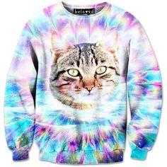 OMG cat sweater!!