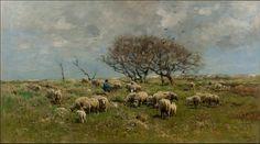 Anton Mauve, toonaangevend schilder van de Haagse school