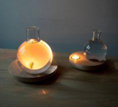 Unique Liquid Light Lamps Glass Bottles Designs Ideas 5