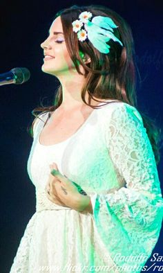 Lana Del Rey performing at the Moon & Stars Festival in Locarno, Switzerland #LDR