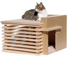 #prefab cat condo