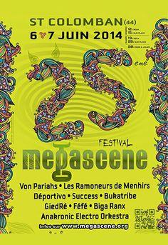 Festival Mégascène, Saint-Colomban (44310), Pays de la Loire