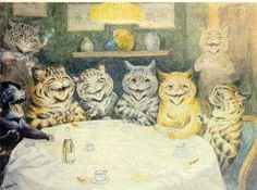 Neuroscience Art Gallery: Art by Psychotics. Louis Wain