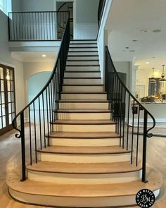 Staircase Metal, Stair Railing, Staircase Design, Interior Styling, Interior Decorating, Interior Design, Apartment Interior, Bathroom Interior, Contemporary Stairs