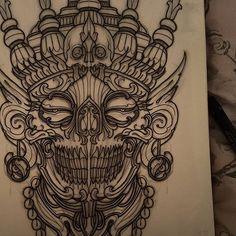 It's been a while. Back on to the grind with these. #tattoo #tattoos #tattooworkers #tattoosnob #tattoolifemagazine #triplesixstudios #neojapanese #uktta #art #artist #draw #drawing #japanesetattoos #kapala #tibetanskull #tibetan #triplesix #sunderland #northeast #teamego #elliottwells #thebesttattooartists #irezumicollective #irezumi #kapalatattoo #skull