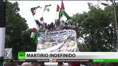 Venezuela repudia la barbarie israelí en Gaza con una marcha multidinaria
