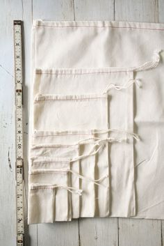 Soft cotton drawstring bags for party favors, small notes, kiddie treats, or for…