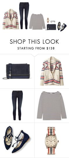 """""""Untitled #4912"""" by mrs-box ❤ liked on Polyvore featuring STELLA McCARTNEY, Étoile Isabel Marant, J Brand, Yves Saint Laurent, Boden, Rolex and Arme De L'Amour"""