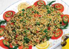 Bulgurlu Bahar Salatası