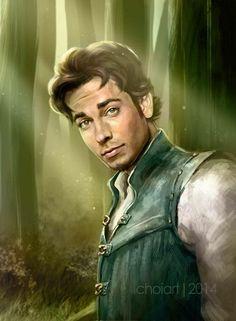 Zachary Levi as Flynn Rider --- Ok, that is pretty cool.