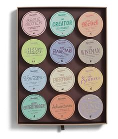 сет из 12 наборов шоколада