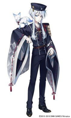 Anime Neko, Kawaii Anime, Anime Art, Cool Anime Guys, Cute Anime Boy, Cute Characters, Anime Characters, Touken Ranbu Characters, Bishounen