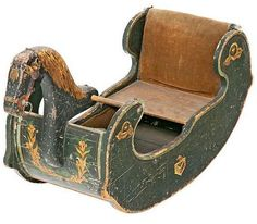 19th Century Rocking Horse, most likely also from Norway