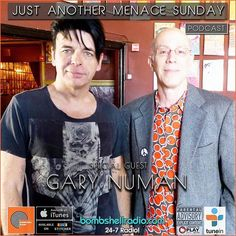 Today The Menace's Attic/Just Another Menace Sunday Radio  Replay on Bombshell Radio W/ The Gary Numan Official 6pm-8pm EST  Repeats Saturday  6am-8am  bombshellradio.com  Just Another Menace Wednesday  Theme Song Just Another Menace Sunday Theme (Dennis The Menace) - Mighty Six Ninety Hour 1 A CONVERSATION WITH GARY NUMAN Just Another Menace Sunday Theme  Mighty 690 OPENING SONGS: Love Hurt Bleed  Gary Numan Me! I Disconnect From You  Gary Numan GARY NUMANS MUSICAL SANDWICH OPENING BREAD: I…