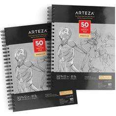 Sketch Pad, Grey, 50 sheets, -Pack of 2 Grey Sheets, Gel Ink Pens, Toned Paper, Sketch Pad, Coloured Pencils, Ms Gs, Prismacolor, Album, Ideas