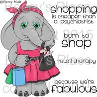 Retail Therapy digital stamps