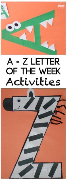 26 Alphabet Crafts You are going to love these super clever and fun-to-make 26 A. Handwerk ualp , 26 Alphabet Crafts You are going to love these super clever and fun-to-make 26 A. 26 Alphabet Crafts You are going to love these super clever and fu. Preschool Learning, Toddler Preschool, Preschool Crafts, Toddler Activities, Preschool Kindergarten, Diy Crafts, Preschool Alphabet Activities, Preschool Letter Crafts, Kids Educational Crafts