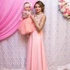 Mother Daughter Matching Lace Peach Pink dress, Tutu dress Mommy and Me Matching evening Outfits Maxi Dress Christmas gift Mom Baby Mommy Daughter Dresses, Mother Daughter Dresses Matching, Mommy And Me Dresses, Mommy And Me Outfits, Baby Tutu Dresses, Girls Dresses, Lace Dresses, Pink Dresses, Most Expensive Dress