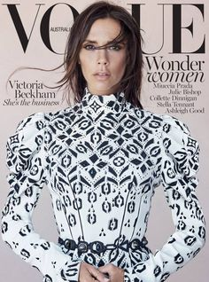 nice Victoria Beckham covers Vogue Australia August 2015 & opens up about fame [Cover]