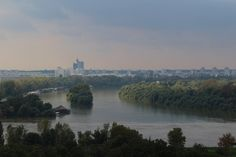 Beautiful Serbia! View over the rivers to New Belgrade.