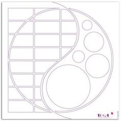 Stencil - Yin Yang - scrapbook or card stencil Scrapbook Patterns, Scrapbook Templates, Scrapbook Designs, Scrapbook Sketches, Scrapbook Paper Crafts, Scrapbooking Layouts, Scrapbook Cards, Stained Glass Patterns, Mosaic Patterns