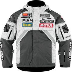Patrol Raiden Waterproof Jacket - Grey | Products | Ride Icon