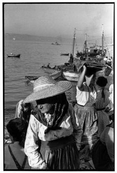 Henri Cartier-Bresson en Portugal. 1955.