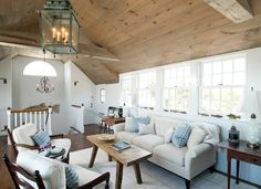 Cape Cod House - traditional - family room - boston - Judge Skelton Smith Architects