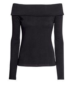 Off-the-shoulder Top Long Sleeve