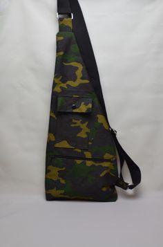 Umhängetaschen - Umhängetasche Army Style - ein Designerstück von StoffAttitude bei DaWanda http://de.dawanda.com/product/95251883-umhaengetasche-army-style