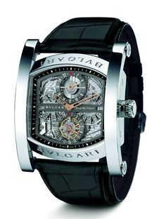 Bulgari Assioma Multicomplication Squelette tourbilon watch. I'll never be able to afford one, but I can dream...