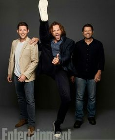 Jensen, Jared, and Misha
